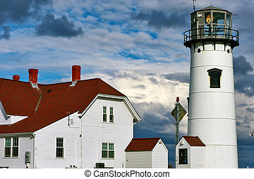 Chatham Lighthouse at Cape Cod, Massachusetts