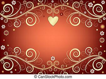 Valentine pink background