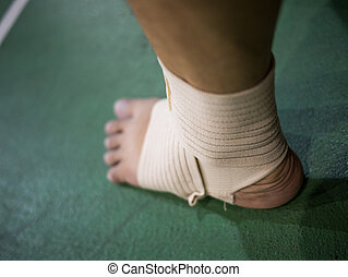 Support for ankle injury