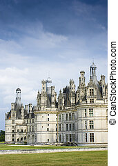 Chateau Chambord in Loire Valley France