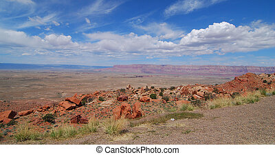 Desert View - Views from Arizona Highway 89 and Marble...