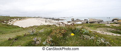 coast - the coast of  Brittany in France