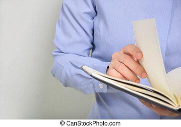 hand opening books - wooman hand opening books