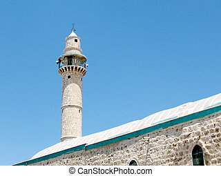 Ramla the minaret of Great Mosque 2007 - The minaret of...