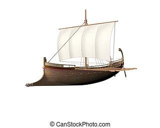 古代, ギリシャ語, 船