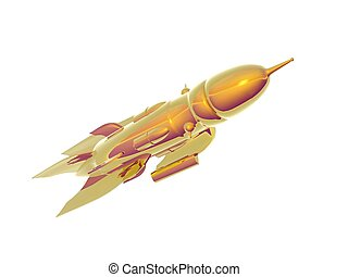 Spaceship - An Illustration of a deep space spaceship
