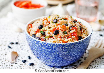Beans rice Images and Stock Photos. 11,405 Beans rice photography and ...
