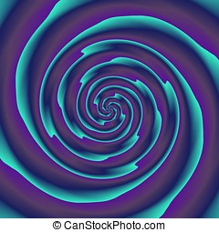 Abstract spiral - Crazy and funny abstract spirals in...