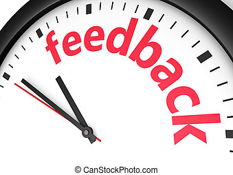 Feedback Time Concept - Marketing and business customer care...