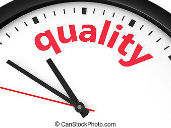 Quality Time Concept - Business and lifestyle concept with a...