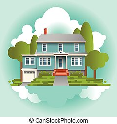 A Stylized Quaint Home in the Suburbs