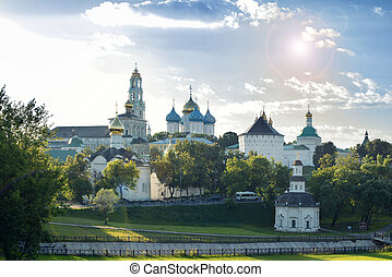 Sergiev Posad Russian Federation - Architectural Ensemble of...
