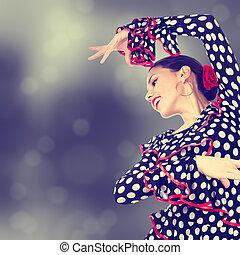 cigana, dançarino,