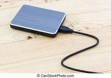 External hard drive for backup. - External hard drive for...