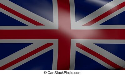 united kingdom strong wind flag