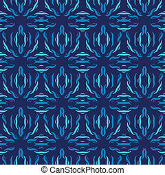 Seamless pattern. Hand drawn seamless pattern from abstract...