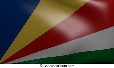 seychelles strong wind flag