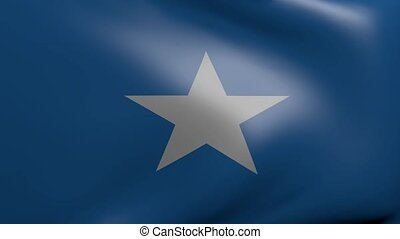 somalia strong wind flag