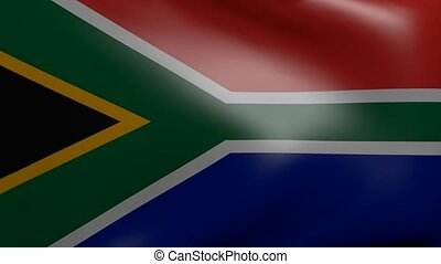 south africa strong wind flag