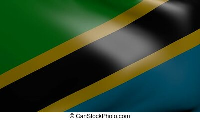 tanzania strong wind flag