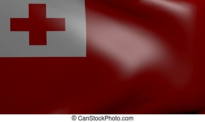 tonga strong wind flag