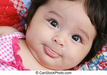 嬰孩, 肖像