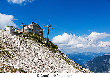 Dachstein Summit Station - Obertraun, Austria - June 27,...
