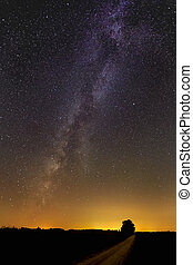 Milky Way Over Midwest
