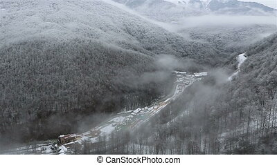 Cultural and ethnographic center My Russia. Rosa Khutor...
