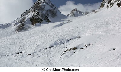 Rosa Khutor Alpine Resort at the Aibga Ridge