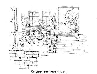 Homy archivi di illustrazioni e clipart 9 homy for Piani casa com classico cane trotto stile
