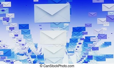 Envelopes in rows