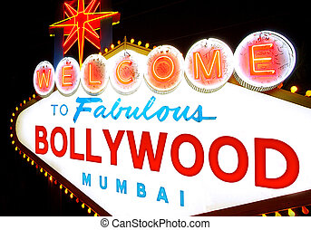 Welcome to Bollywood signal like Las Vegas