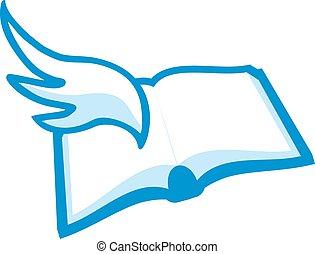 literature symbol - Creative design of literature symbol
