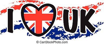i love the uk background