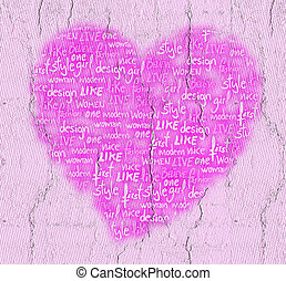 Pink heart - Creative design of Pink heart