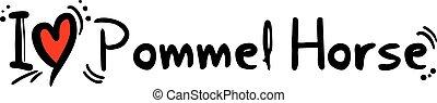Pommel Horse love - Creative design of Pommel Horse love
