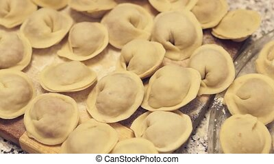 Siberian meat dumplings - Tasty siberian meat dumplings are...
