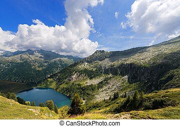 Lago di Campo - Adamello Trento Italy - Campo Lake 1944 m...