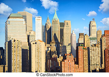 Lower Manhattan architecture in New York City