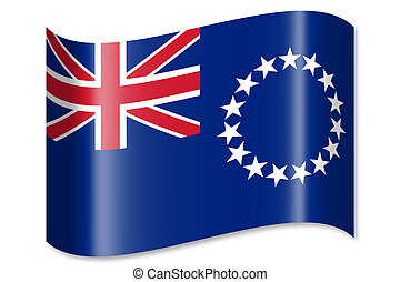 Cook Islands flag - Flag concept - great for topics like...