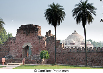 Humayuns Tomb in New Delhi, India