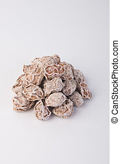 Salted Plum Tamarind Food Snack on a Background - Salted...