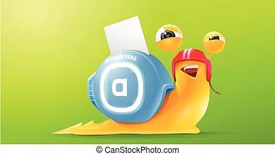 snail messenger