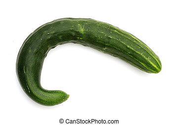 Crooked cucumbers you will not find so easily in the store...