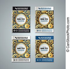 Brochure cover templates - Brochure or book cover templates...