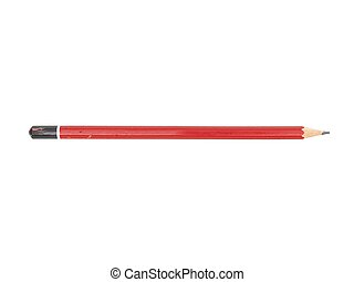 Lead Pencil - A close up shot of a lead pencil