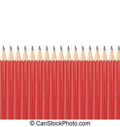 Lead Pencil - A close up shot of a lead pencil