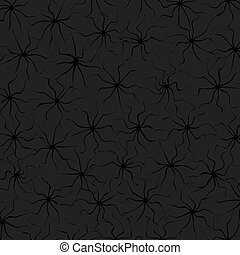 Black Abstract Background. Vector.