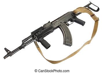 Kalashnikov AK-47 isolated on white